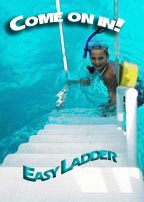 ladder for snorkeling