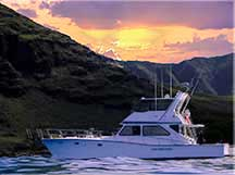 Sunset anchorage